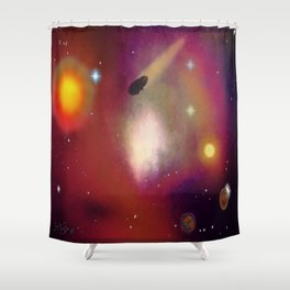 Cosmos - 005Z Shower Curtain
