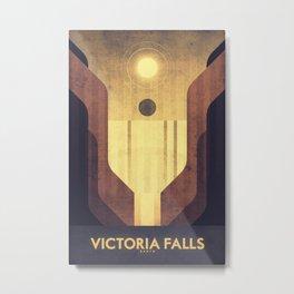 Earth - Victoria Falls Metal Print