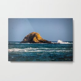 Rocky Landscape at the Sea Metal Print