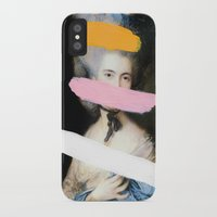 chad wys iPhone & iPod Cases featuring Brutalized Gainsborough 2 by Chad Wys