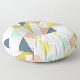 Modern Geometric Design Floor Pillow