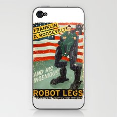 Franklin D. Roosevelt and his Amazing Robot Legs.... iPhone & iPod Skin