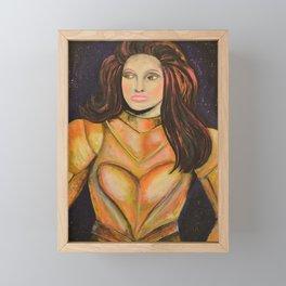 Dark Sister Framed Mini Art Print