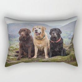 Labradors Rectangular Pillow