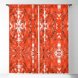 An Orange Nation Blackout Curtain