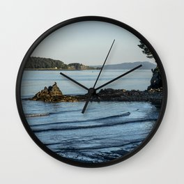 Cool Waves Wall Clock