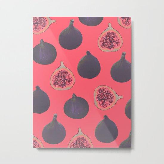 Fig pattern Metal Print