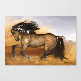 HORSE - Cherokee Canvas Print