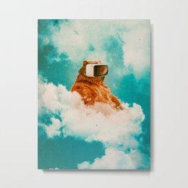 Living On The Cloud Metal Print