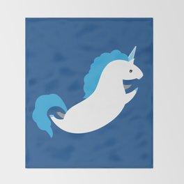 Unicorn - Maximum Effort Throw Blanket