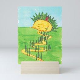 Sleeping Dragon Mini Art Print
