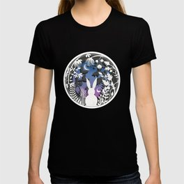 Moonlight Bunny Star Gazer T-shirt
