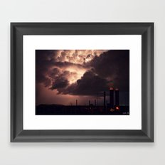 Industrial Spark II Framed Art Print