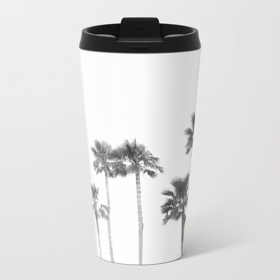 Tranquillity - bw Metal Travel Mug