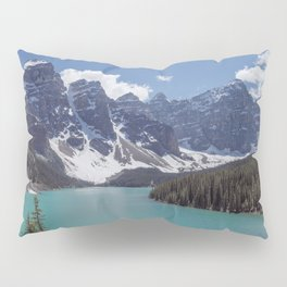 Lake Moraine Top View Pillow Sham