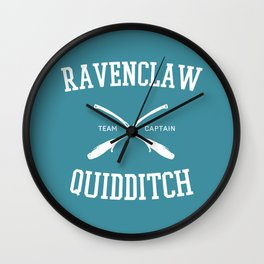 Hogwarts Quidditch Team: Ravenclaw Wall Clock