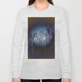 Walls in the Night - UFOs in the Sky Long Sleeve T-shirt