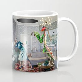Mantis Encounter Coffee Mug
