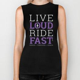 Live Loud, Ride Fast Biker Tank