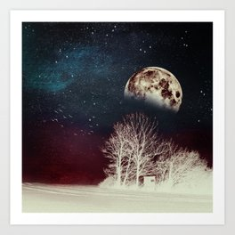 Surrender To The Night Art Print
