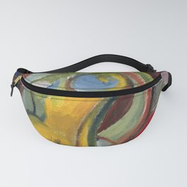 Seated Nude Fanny Pack