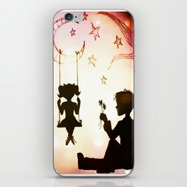 The Love Story - 1 iPhone Skin