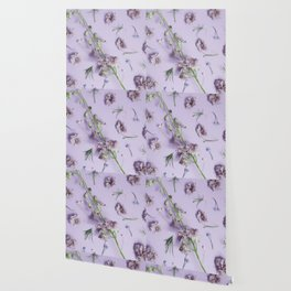 Light Purple Flowers Wallpaper