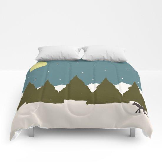 First Snowfall Comforters
