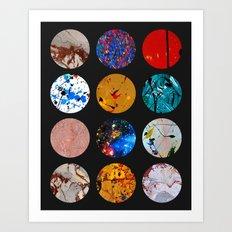 Pattern Circles #2A Art Print
