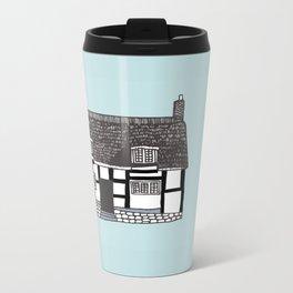 'Coventry' House print Metal Travel Mug