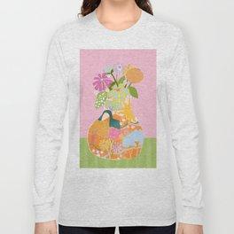 Colourful Garden Long Sleeve T-shirt