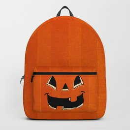 Trick or Treat Halloween Pumpkin Face Backpack