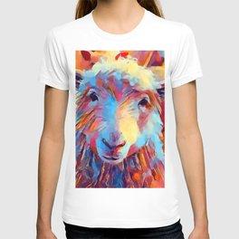 Sheep Watercolor T-shirt