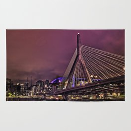 Zakim bridge, Boston MA  Rug