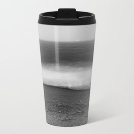 Ocean - 10 Black and White Travel Mug