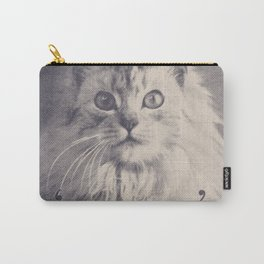 Famous Quotes #2 (anonymous cat, 1952) Carry-All Pouch