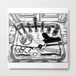 asc 572 - Weapons of class distraction Metal Print