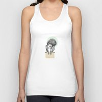 squirrel Tank Tops featuring Squirrel by Ohoi Studio