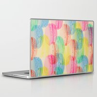 macaroon Laptop & iPad Skins featuring Macaroon Madness by Tyler Spangler
