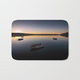 Sunrise over Knysna Lagoon in Western Cape, South Africa Bath Mat