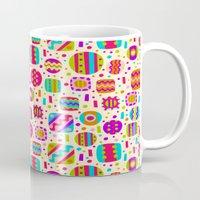 carnival Mugs featuring Carnival by Valendji