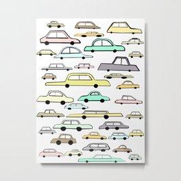 Cars Metal Print
