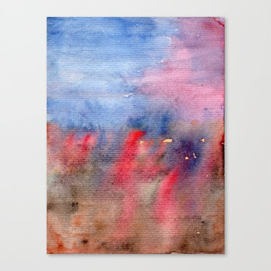 vague memory Canvas Print