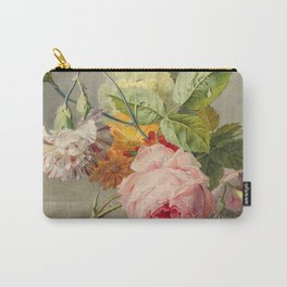 "George Jacobus Johannes van Os ""Floral Still Life"" Carry-All Pouch"