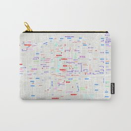 Beijing Map Carry-All Pouch