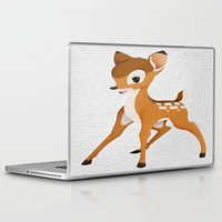 bambi Laptop & iPad Skins featuring Bambi by MandiMccl