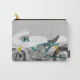 Vintage Motorcycle Carry-All Pouch