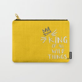 King of All Wild Things - Max Carry-All Pouch