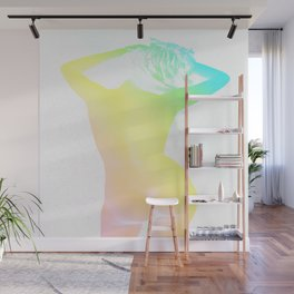 Carefree Living Pastel Wall Mural