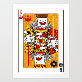 King of Toys Art Print